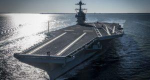 USS Gerald R. Ford - kép forrása: U.S. Navy