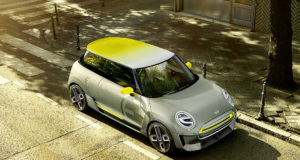 Mini Electric concept 2017 - kép forrása: BMW Group
